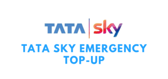 Tata Sky Emergency Top-Up By Missed Call