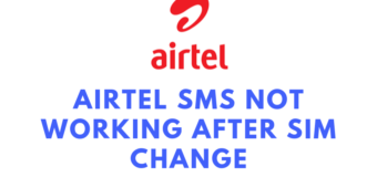 Airtel SMS not working after SIM change, Unable to Send or Receive SMS