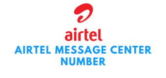 Airtel Message Center Number based on Area