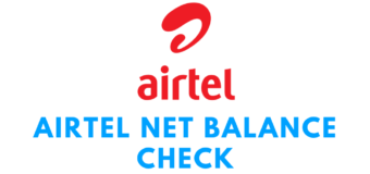Airtel Net Balance Check and USSD Codes