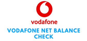 Vodafone Net Balance Check By USSD Code