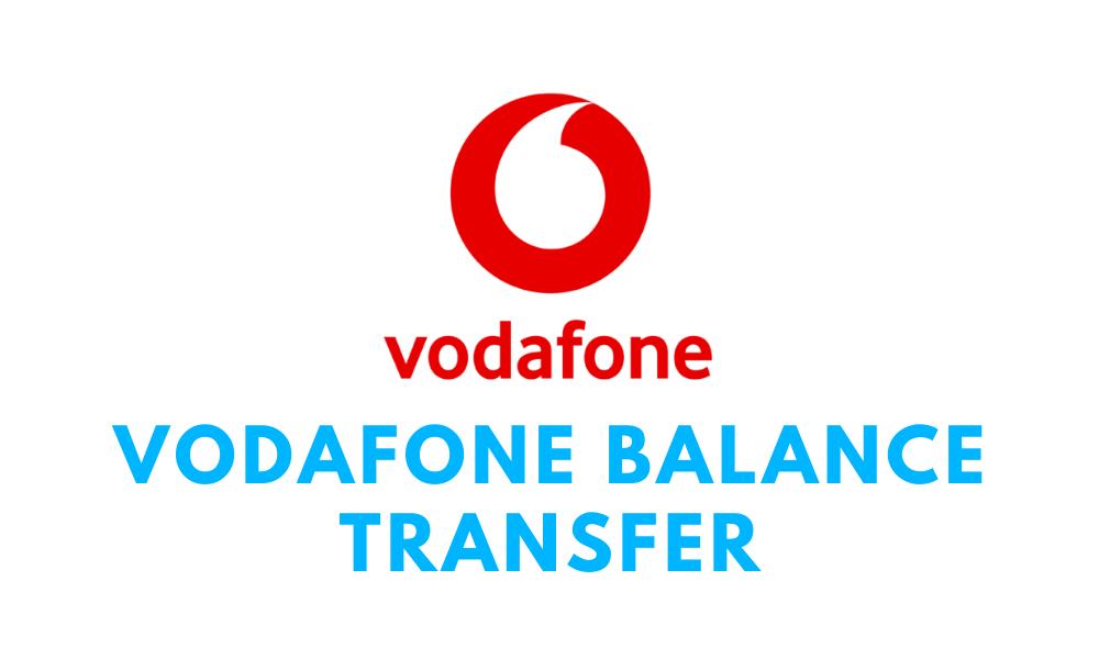 Vodafone Balance Transfer