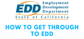 How to get Through to EDD: Call a Live Person in EDD