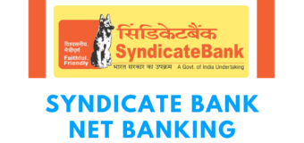 How to do Syndicate Bank Netbanking