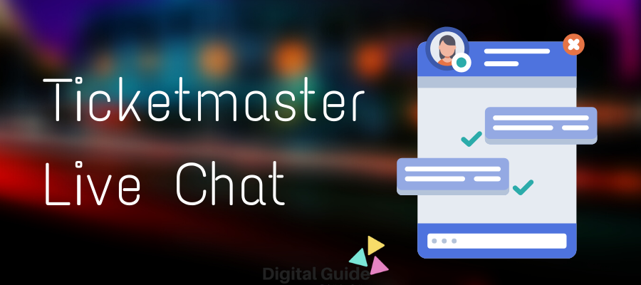 How to do Ticketmaster Live Chat