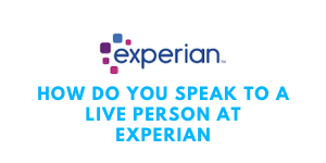 how do you speak to a live person at experian_