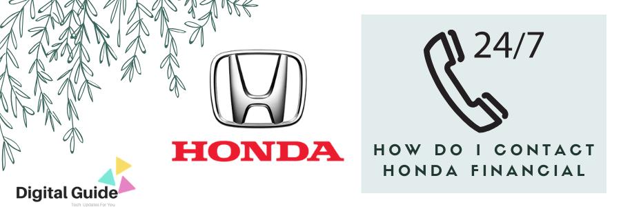 How Do I Contact Honda Financial Service Digital Guide