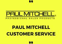 paul mitchell customer service