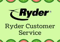 Ryder Customer Service