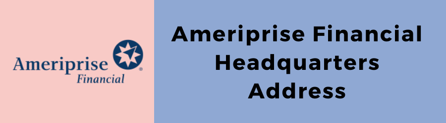 Ameriprise Address And Customer Care Services Digital Guide