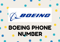 boeing phone number