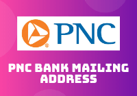 pnc bank mailing address