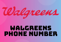 walgreens phone number