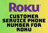 customer service phone number for roku