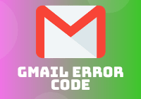 gmail error code