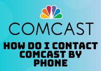 how do i contact comcast by phone
