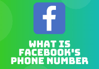 what is facebook's phone number