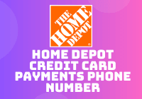 home depot credit card payments phone number