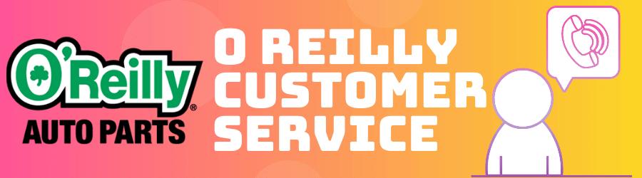 o reilly customer service
