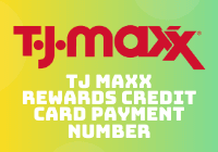 tj maxx rewards credit card payment number