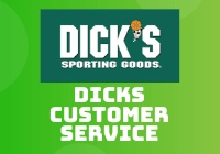 dicks customer service