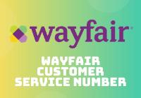 wayfair customer service number