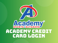 academy credit card login