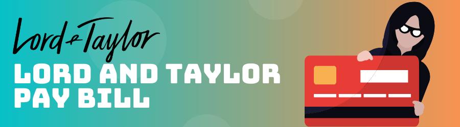 lord and taylor credit card login