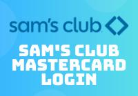 sam's club mastercard login