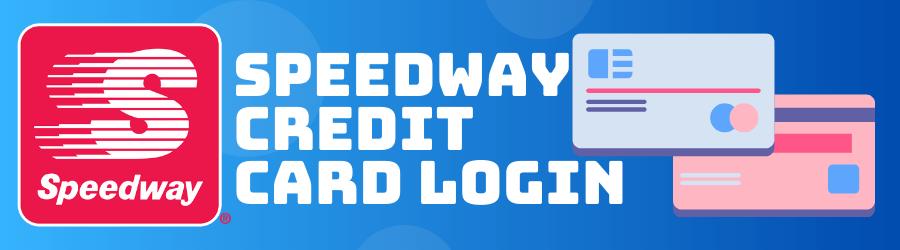 speedway credit card login