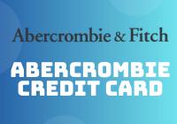 abercrombie credit card
