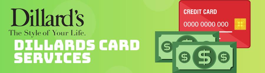 dillards card services