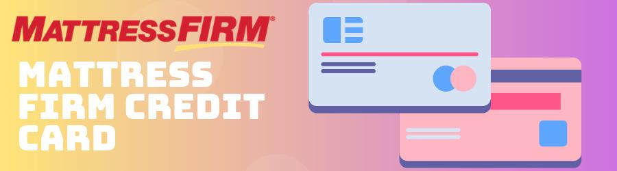 mattress firm credit card