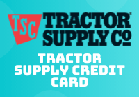 tractor supply credit card