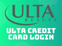 Ulta Credit Card Login