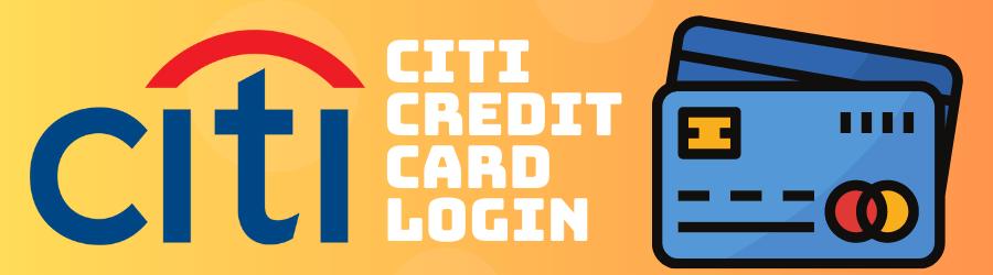 citi credit card login