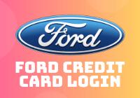 Ford Credit Card Login