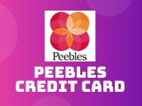 peebles credit card