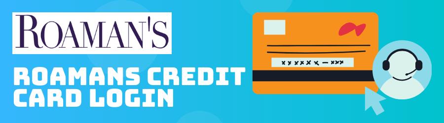 roamans credit card login
