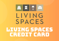 living spaces credit card